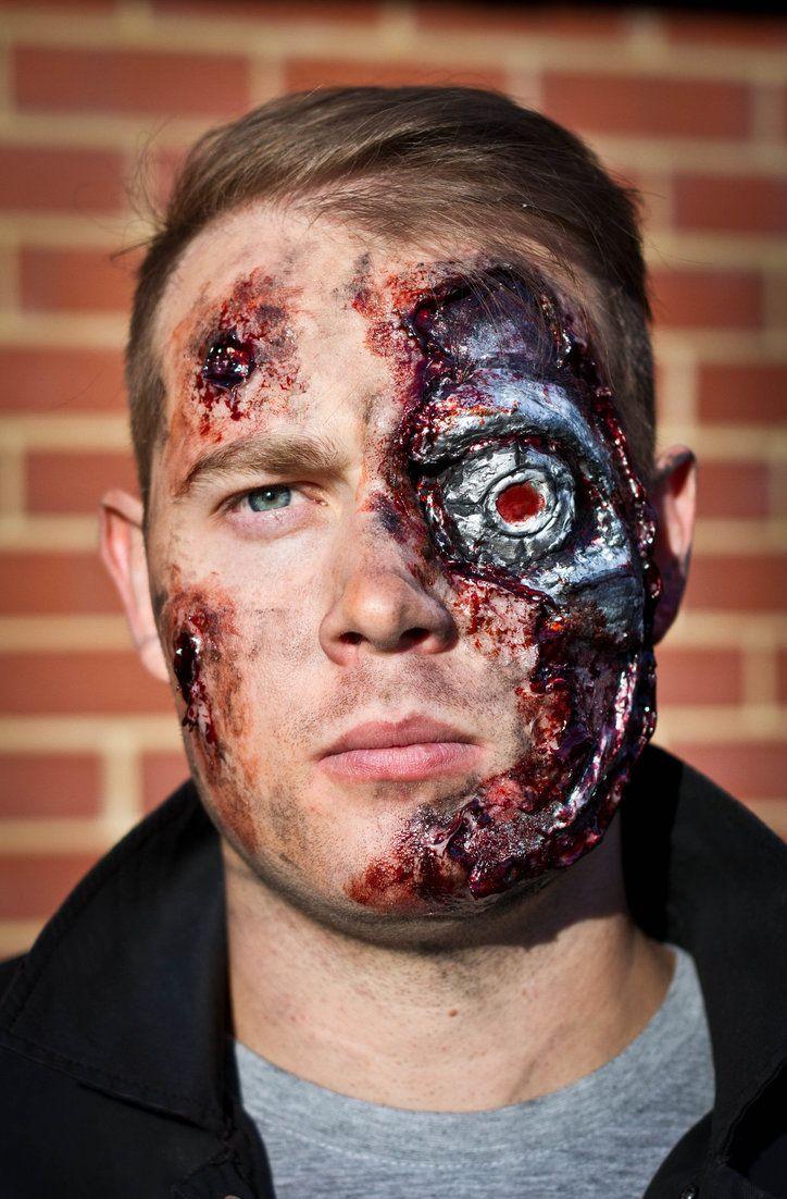 Best 10+ Terminator makeup ideas on Pinterest | Liquid latex ...