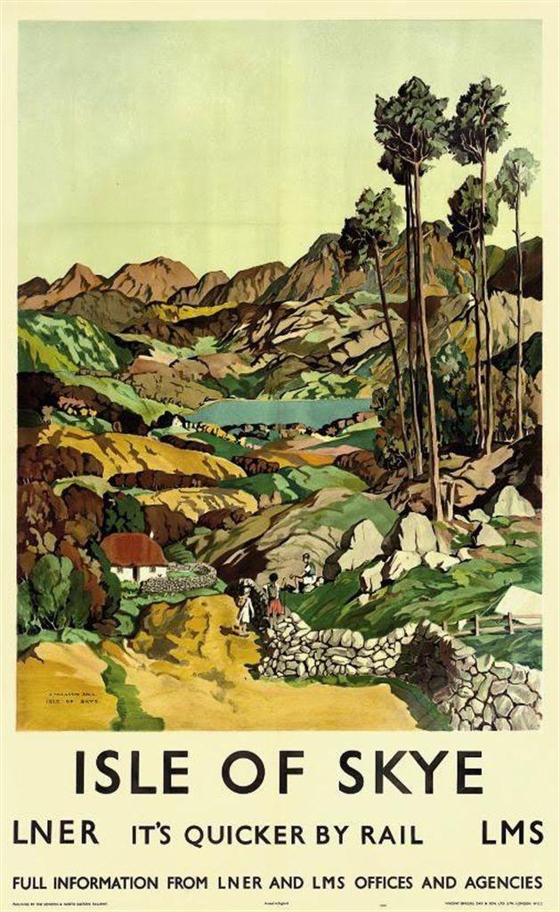 SCOTLAND ISLE OF SKYE James Torrington Bell (1898-1970)