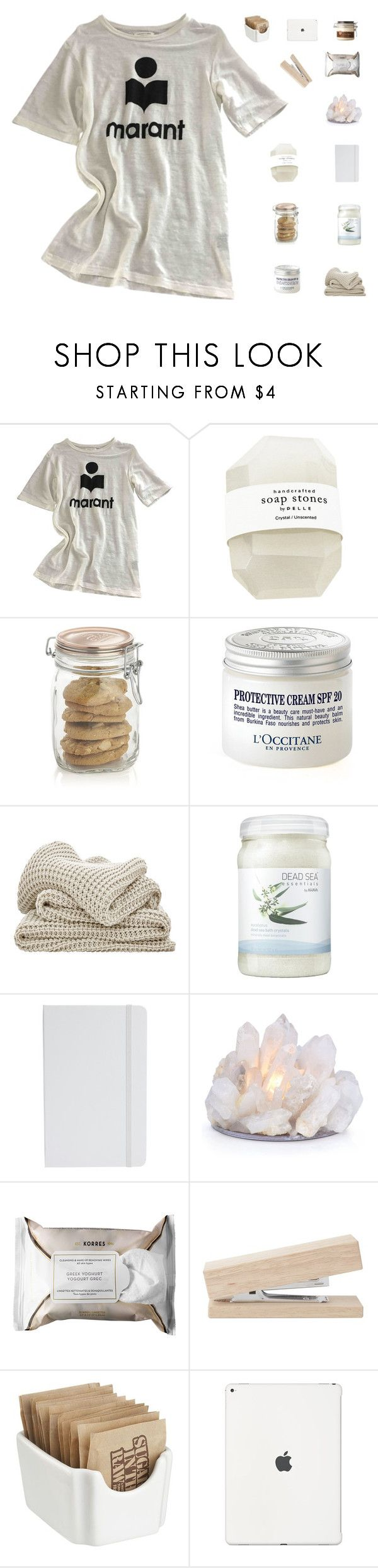 """go follow my new art account @abbeyso-art !!"" by abbeyso on Polyvore featuring Étoile Isabel Marant, Crate and Barrel, L'Occitane, Ahava, ASOS, Korres and The Body Shop"