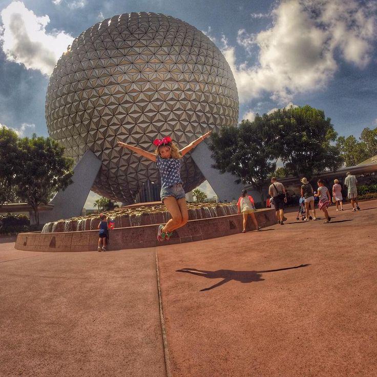 """""""Partiu dar uma volta ao mundo?? Chegamos Epcot - Walt Disney World #goprobr"""""""