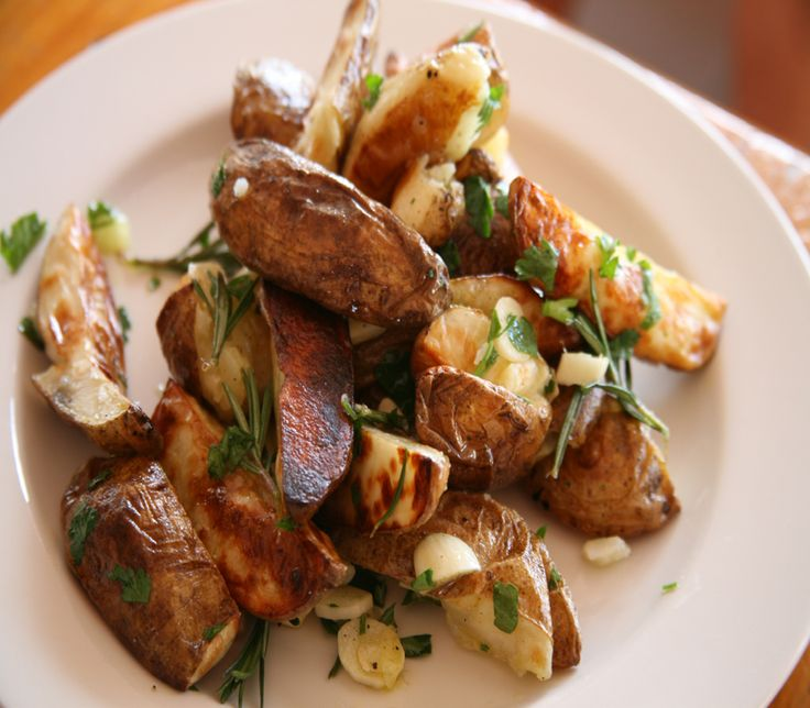 Just wanted to share this delicious recipe from Lidia Bastianich with you - Buon Gusto! Roasted Potato Wedges