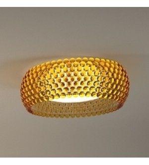 Caboche Ceiling Light - Amber Replica