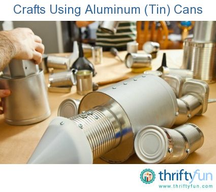 Christmas Crafts Using Cans