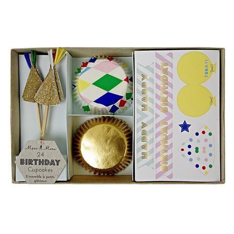 Toot Sweet Harlequin Cupcake Kit