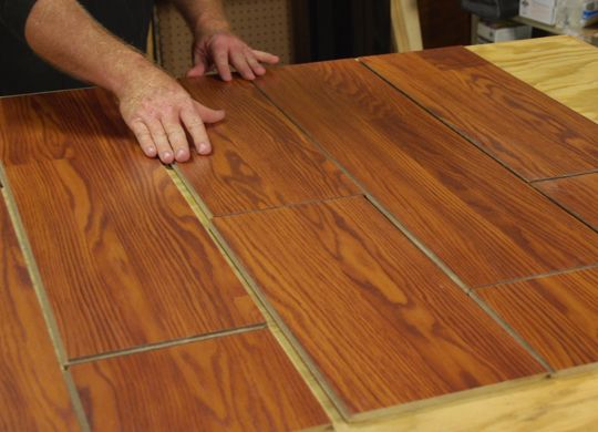 Laminate Floor Wall How To