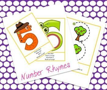 Number Rhymes 0 to 10