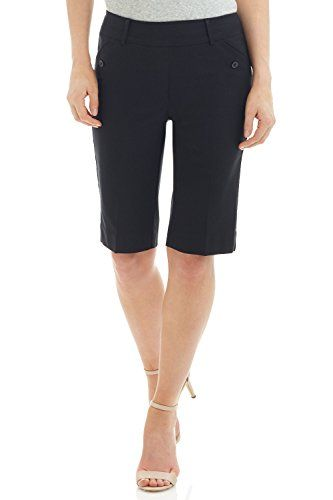 Special Offer: $29.99 amazon.com Our modern take on the classic bermuda short crafted in our favorite stretch fabric, so you'll stay comfortable but still look polished. Featuring our famous soft contour waistband (with hidden elastic) this pull-on style looks smooth and sleek. With...