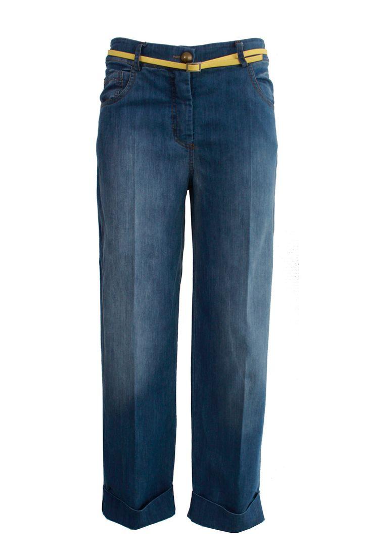 Jeans risvolto fondo | Giorgia & Johns