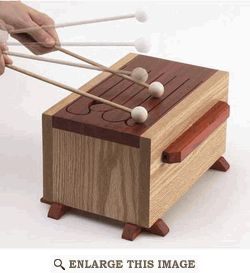 Child Tongue Drum Woodworking Plan, Kid Toy Project Plan | WOOD Magazine