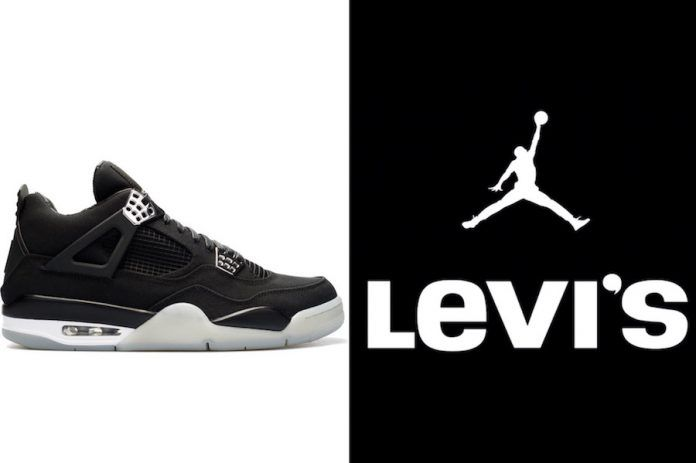 ecffbbc6fcaee8 A Levi s x Air Jordan 4 Collection Is Expected To Release In 2018 ...