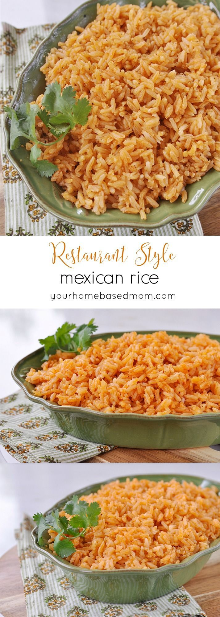 Restaurant Style Mexican Rice  - my kids thought it was better than what we usually get in the restaurant!