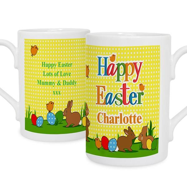 22 best easter images on pinterest easter gift personalised gifts personalised easter bunny card the hut market personalised gift shop negle Choice Image