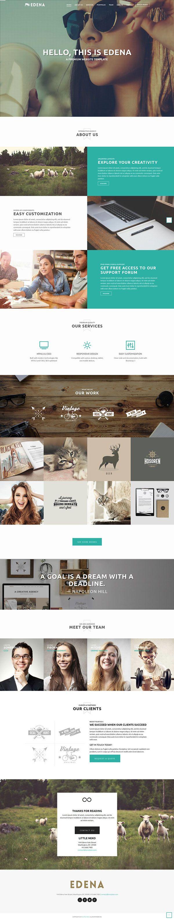 https://www.behance.net/gallery/22538223/EDENA-Creative-Template-One-page-option