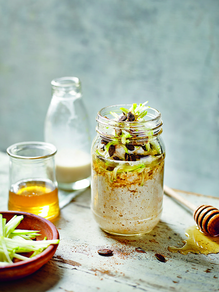 I Quit Sugar - Overnight Bircher Recipe by Madeline Shaw