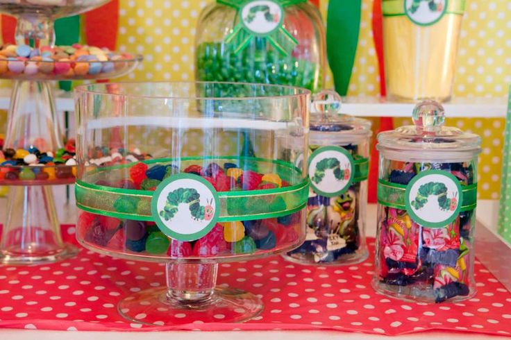 The Very Hungry Caterpillar Birthday Party Ideas | Photo 2 of 12 | Catch My Party