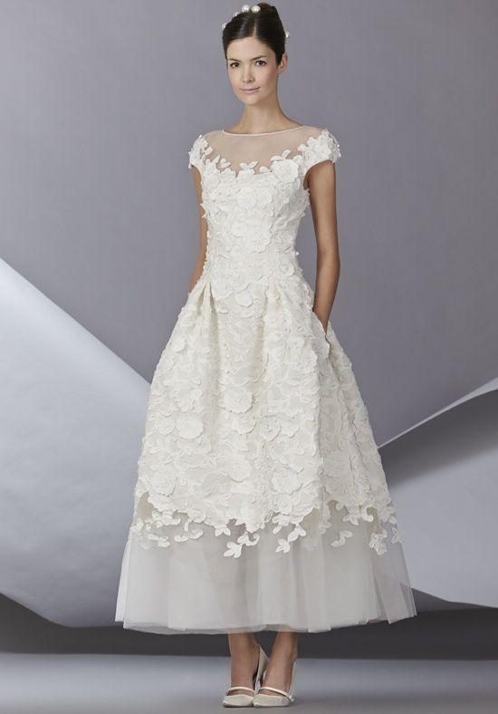 Carolina Herrera Bettina Wedding Dress - The Knot
