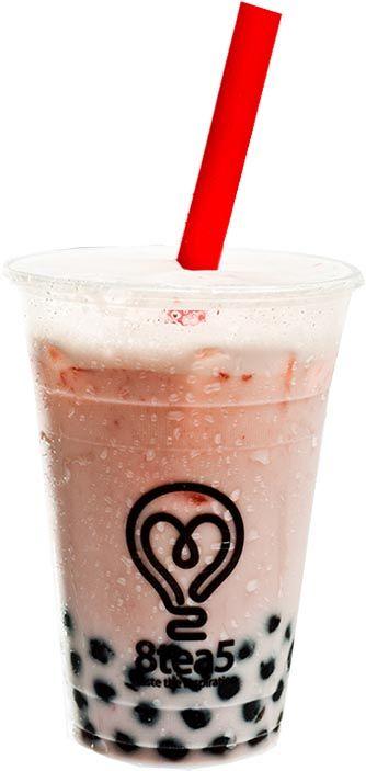 Strawberry milk Bubble Tea Menu 8tea5 @sylviadankwa