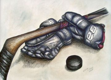 The Decorative Painting Store: Hockey Gloves Pen and Ink ePacket - Wendy Fahey - PDF DOWNLOAD, Wendy Fahey Patterns