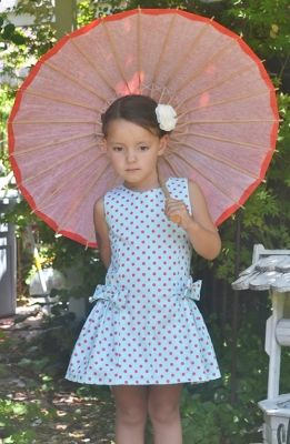 Morgan Dress PDF Sewing Pattern, girl's dress pattern, vintage pattern, downloadable, easy sewing pattern, summer,
