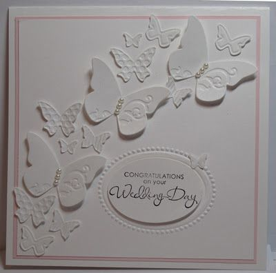 In My Craft Room: Beautiful Wings Embosslits P; white, pink pirouette Champaign mist shimmer mist