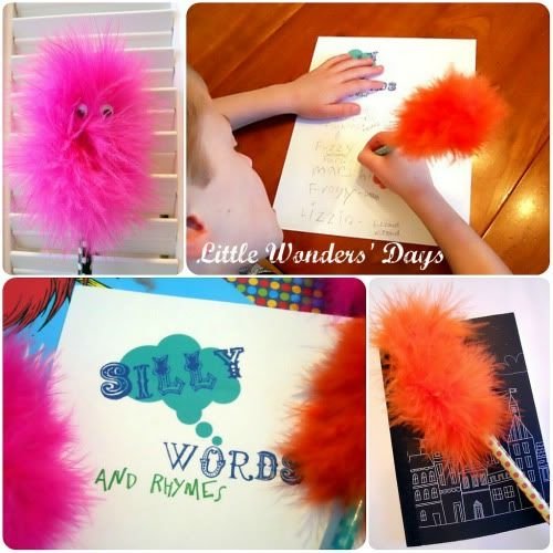 Little Wonders' Days: Truffula Pencils and Silly Word List, Dr. Seuss Fun
