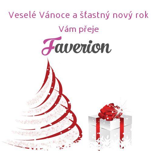Veselé Vánoce a šťastný nový rok Vám přeje Faverion.cz