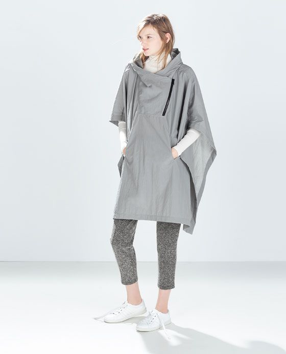 Image 2 of WATERPROOF PONCHO from Zara