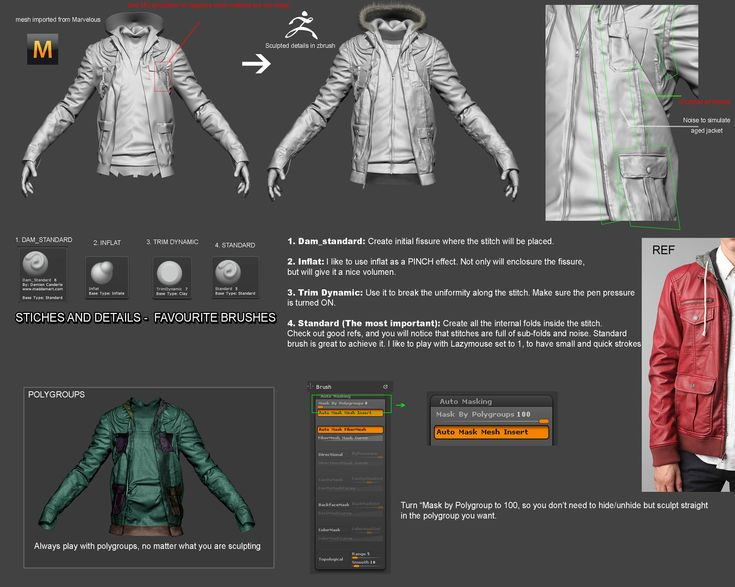 Character Design Zbrush Tutorial : Best zbrush cloth modeling images on pinterest