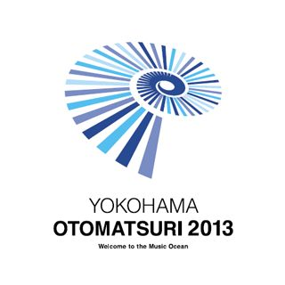 「横浜音祭り2013」のロゴマーク。 9月20日から2ヵ月間に渡って開催される音楽祭です。  ロゴデザイ�