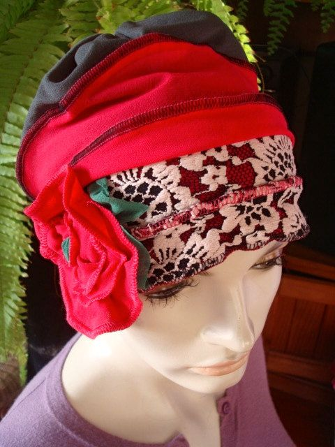 womens hats for Chemo beanie cloche soft hat by GypsyLoveHeadbands, $48.00