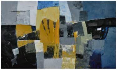 """Saatchi Art Artist Tapas Roy; Painting, """"Intrusion"""" #art"""