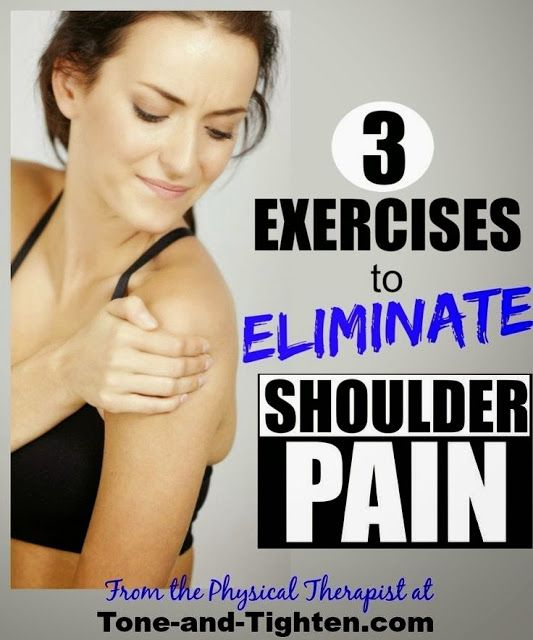 Best Exercises To Eliminate Shoulder Pain