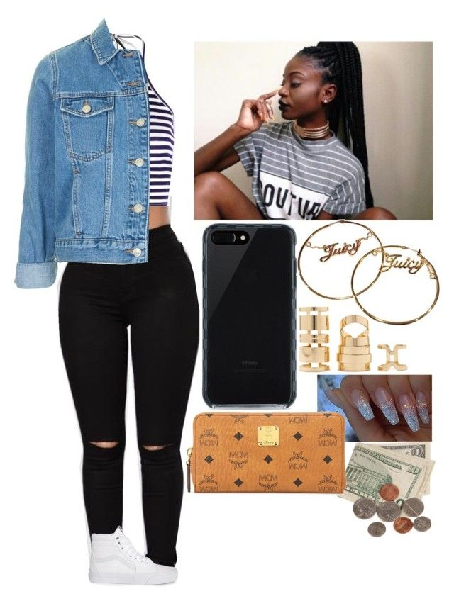 """""""✨✨✨"""" by amournyaa ❤ liked on Polyvore featuring Boohoo, Vans, Topshop, Belkin, Juicy Couture, Forever 21 and MCM"""