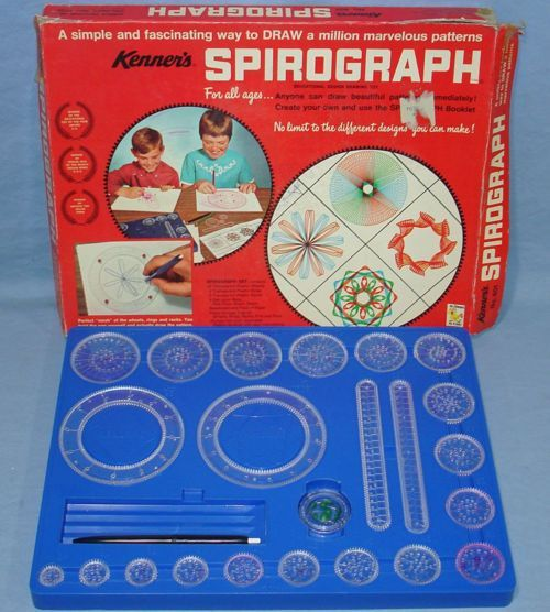 SPIROGRAPH   Hours of fun!! : )