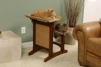 A stylish alternative to ugly cat towers!  Three styles from $89.99