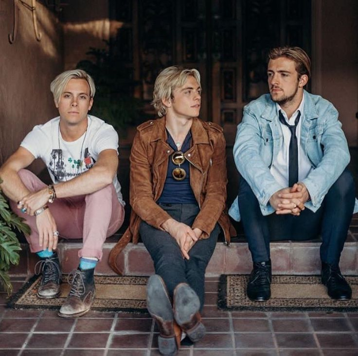 Ross, Rocky, and Riker