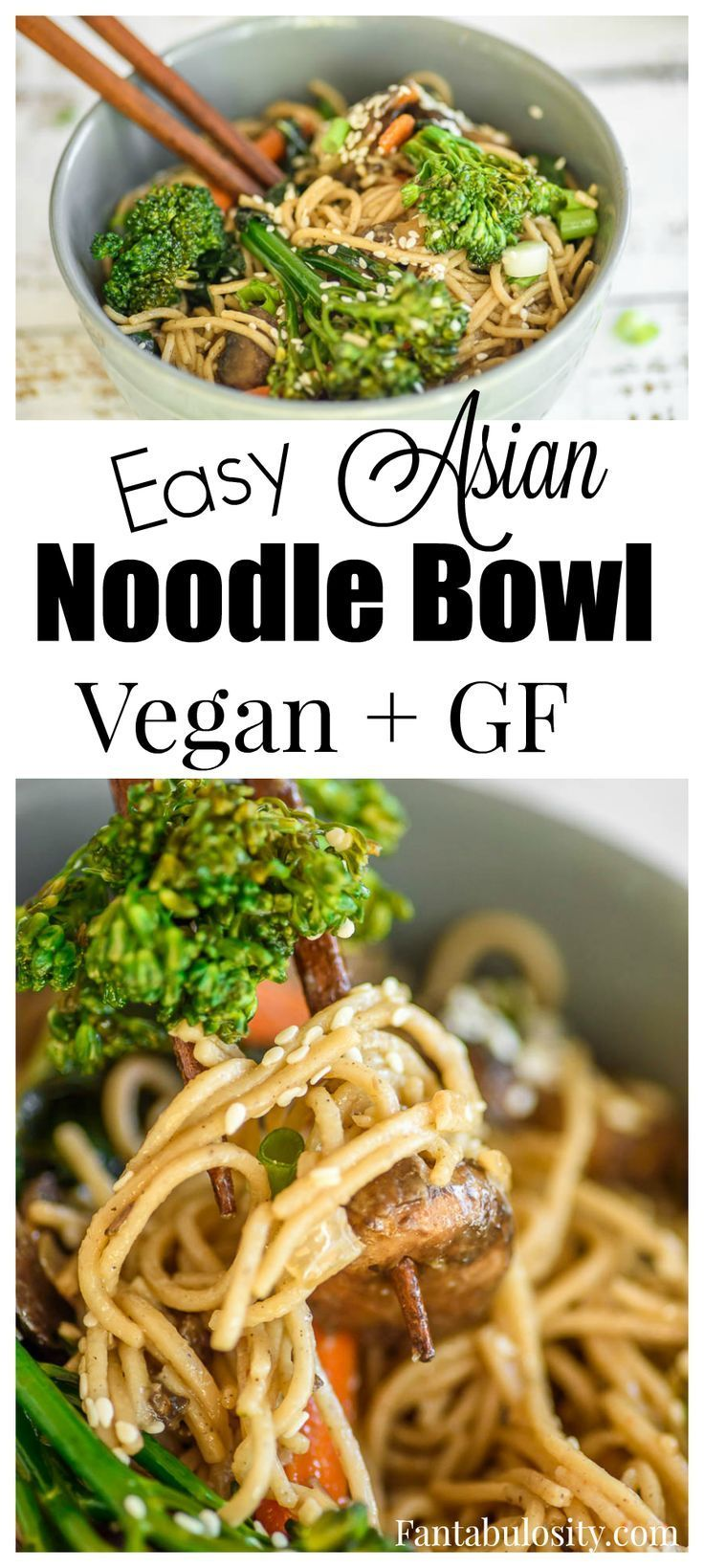 Easy Asian Noodle Recipe Vegan And Gluten Free Vegan Asian Recipes Easy Asian Noodle Recipes Easy Asian Noodles