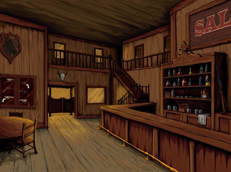 sketch old west saloon by halo34 on deviantart house game room ideas pinterest art. Black Bedroom Furniture Sets. Home Design Ideas
