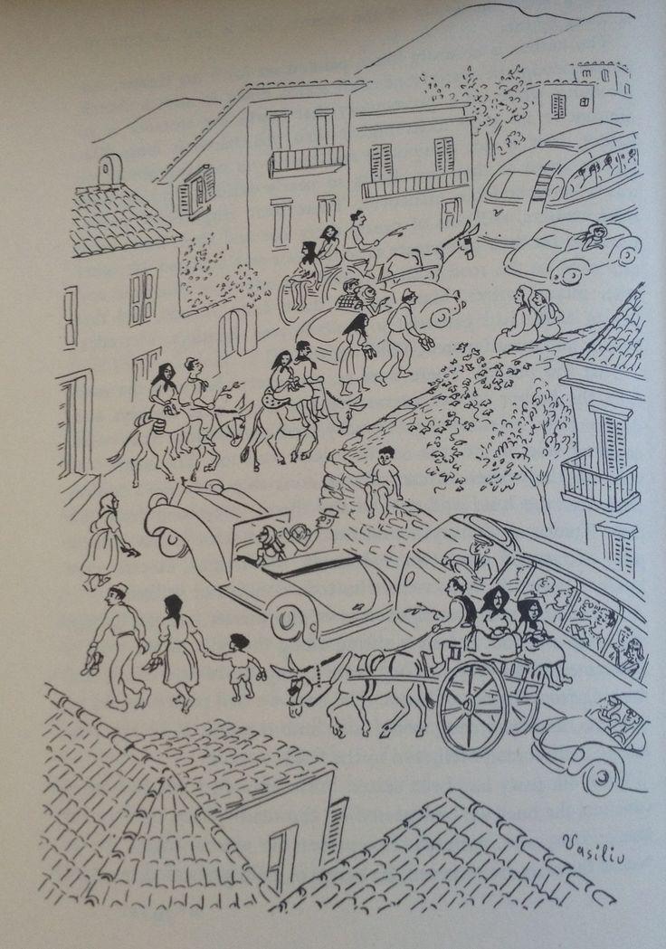 Vasiliu - Greek Street (Forever Old, Forever New by Emily Kimbrough, Heinemann, 1965)
