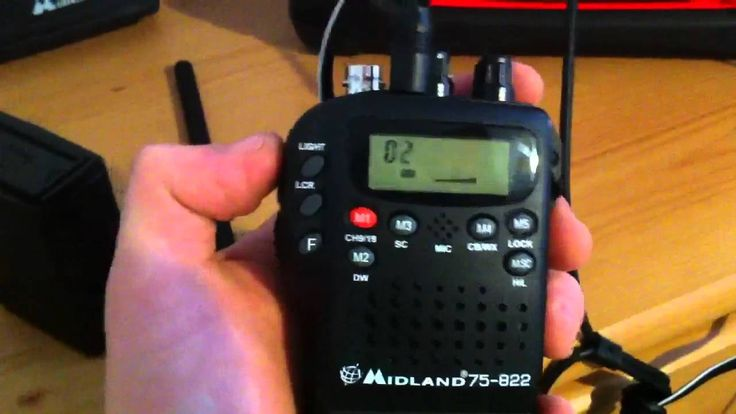Check out the video to see me power a Midland CB radio off solar power and make it portable.
