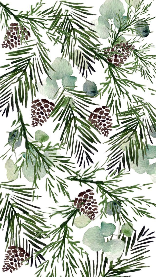 Christmas Patterns Wallpaper Iphone Christmas Winter Wallpaper Holiday Wallpaper