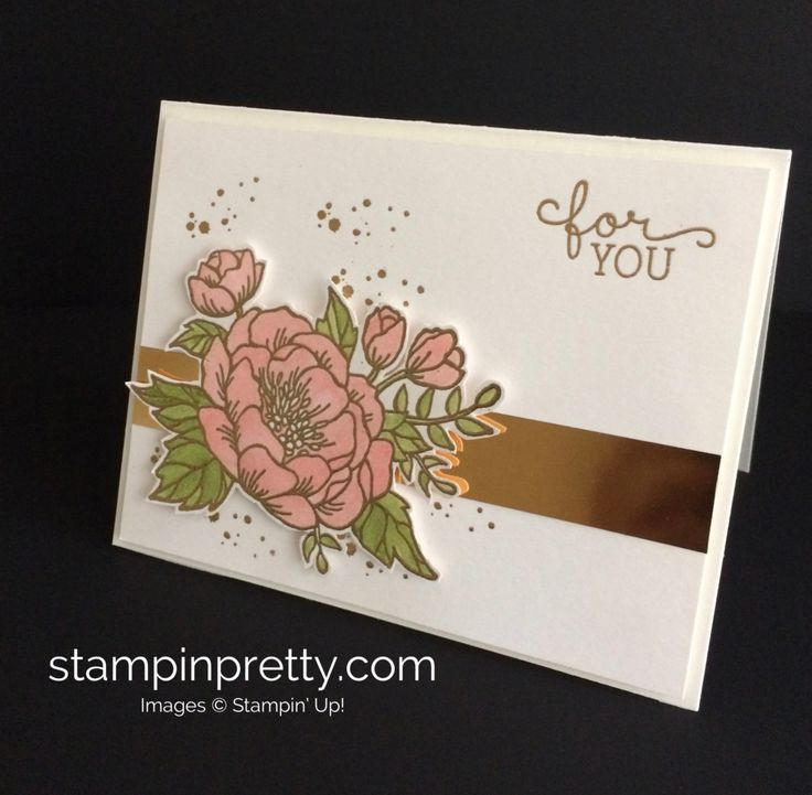 347 best cards birthday blooms images on pinterest for Mary fish stampin up
