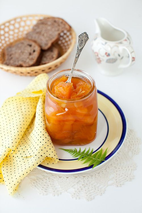 Melon Jam with Candied Ginger and Lemon Peel