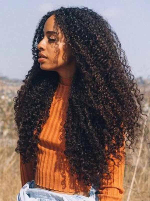 You May Like Most To Follow The Trend At The Stage Of The Hairstyle But You Start To Follow Any Trend Hair Styles Long Hair Styles Curly Hair Styles Naturally