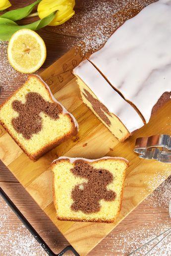 Wielkanocna babka cytrynowa z zajączkiem - Po Prostu Pycha