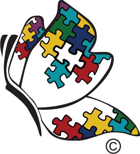 Resultado de imagen para arbol pieza rompecabeza autismo