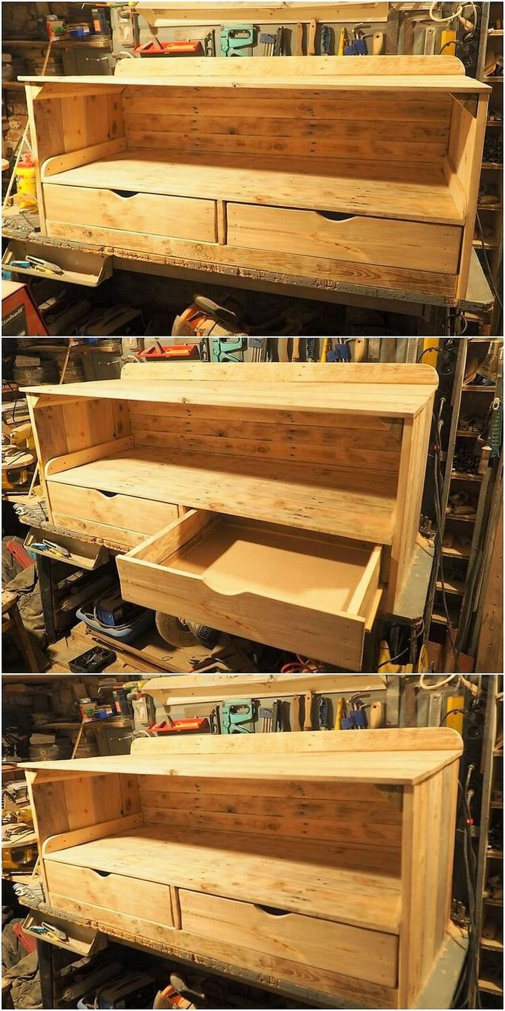 Sophisticated and much a stylish creation of wood pallet TV stand or cabinet has been designed out here that is best to add in your house. It would look so classy if you would be making it locate in the entrance of the house in your bedroom areas. What do you think?