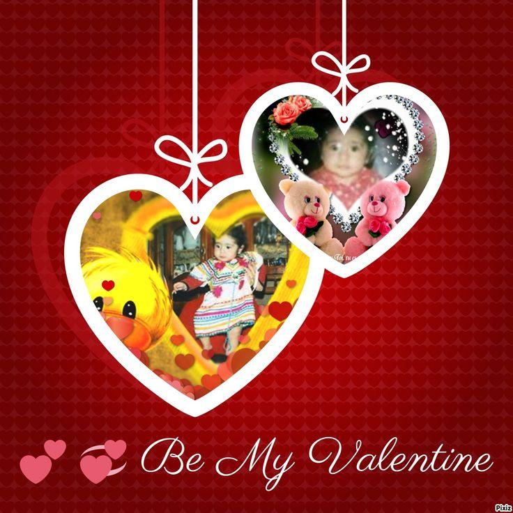 Résultat du montage photo : Deux cœurs pour la Saint-Valentin - Pixiz