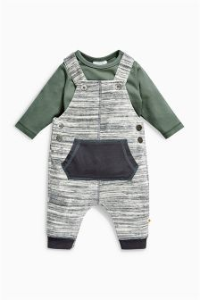 Buy dungarees outfits rompersuits sets Newborn Boys Unisex newborn Dungarees Outfits Rompersuits Sets from the Next UK online shop