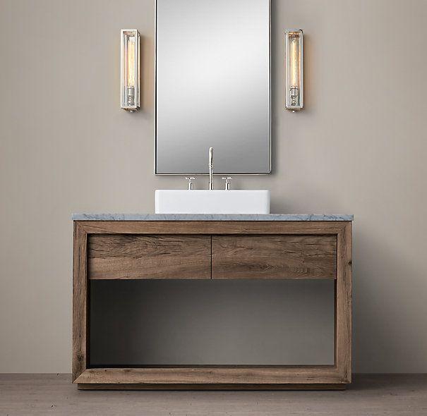Extra Wide Double Bathroom Vanity 147 best tahoe remodel top picks - bathroom cabinets images on